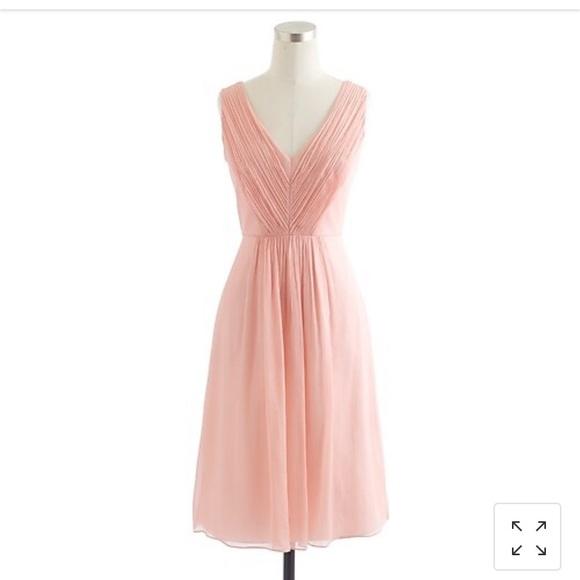 J. Crew Dresses & Skirts - J Crew Louisa silk chiffon dress